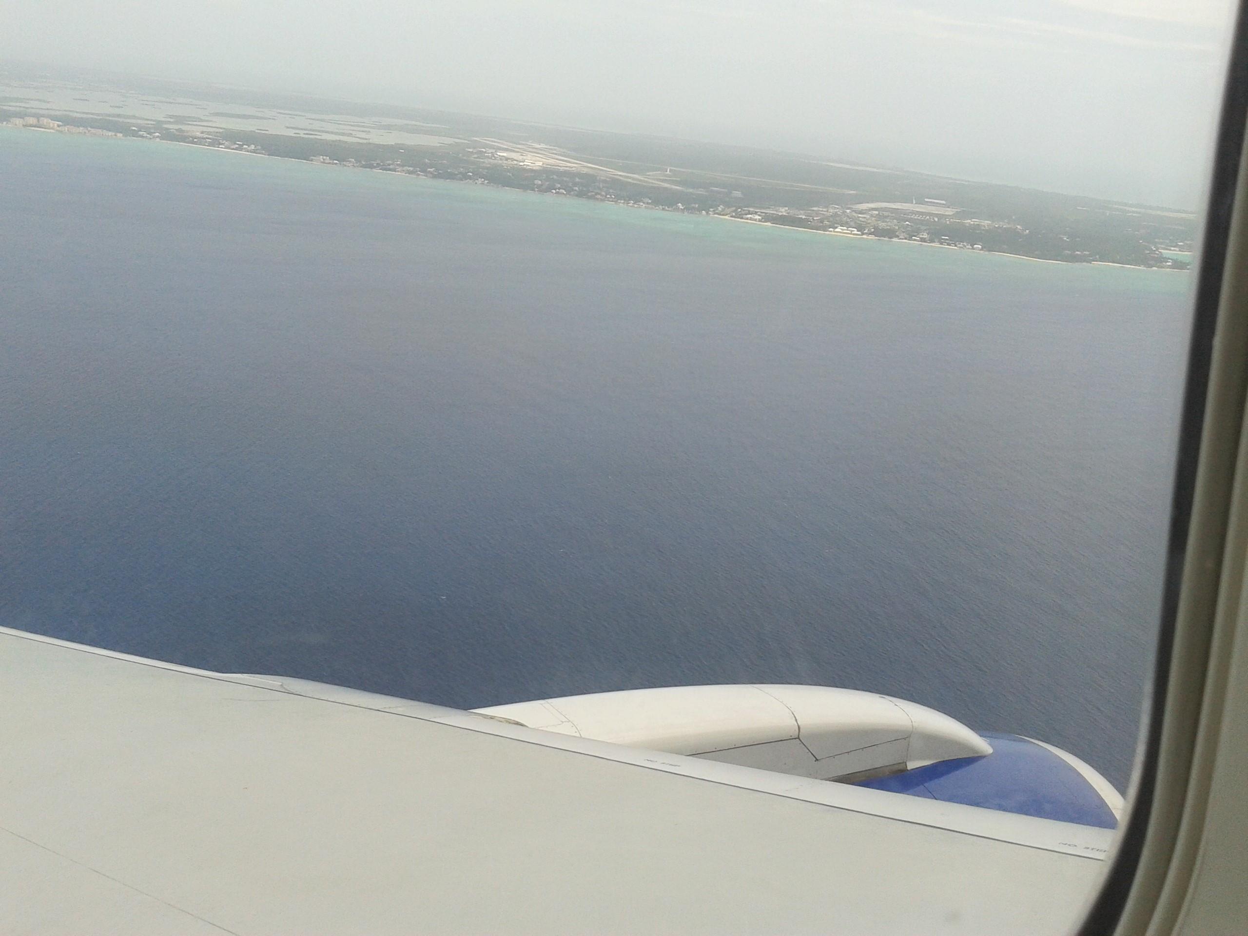 Landing .. Atlantic ocean
